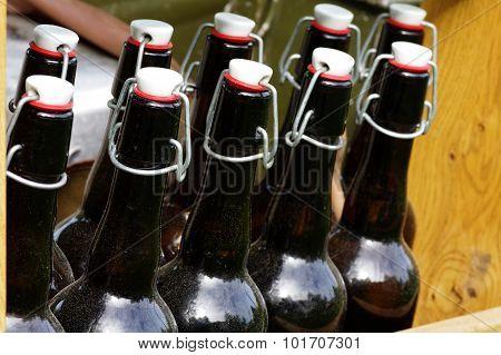 Beer bottles vintage