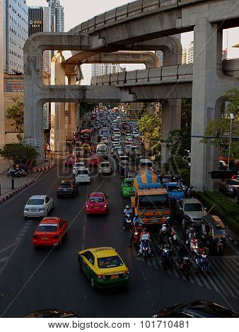 Street in Bangkok.
