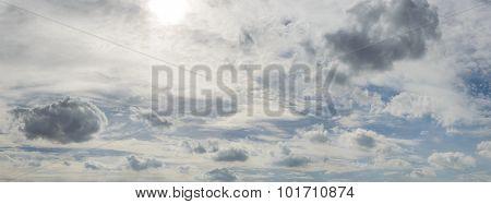 Clouds Sky Panorama