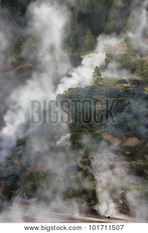 Yellowstone mist