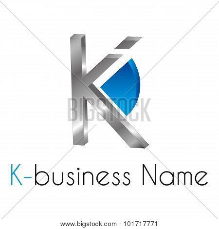 Letter Logo K