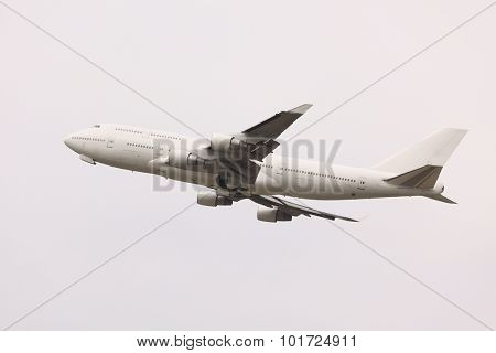 Taking off of a commercial airliner