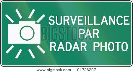 Surveillance By Radar Photo In Canada