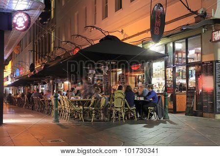 Melbourne restaurant bar Australia
