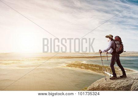 Trekking and hiking