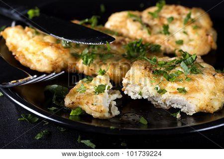 Fried Chicken Schnitzel
