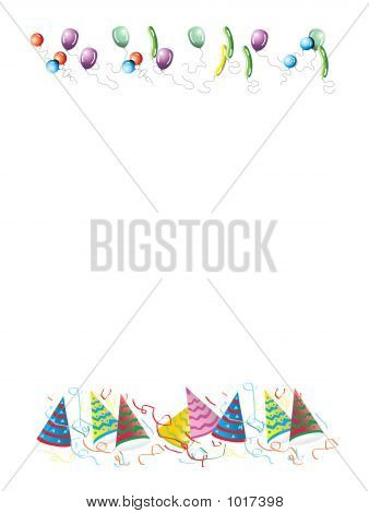 Celebrations Letter Background Illustration