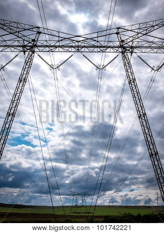 High Voltage Electric Wires