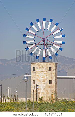 Mediterranean Windmill