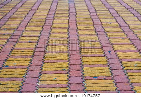 brick ground street