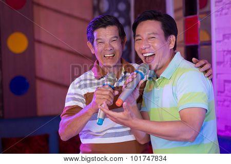 Karaoke Performing
