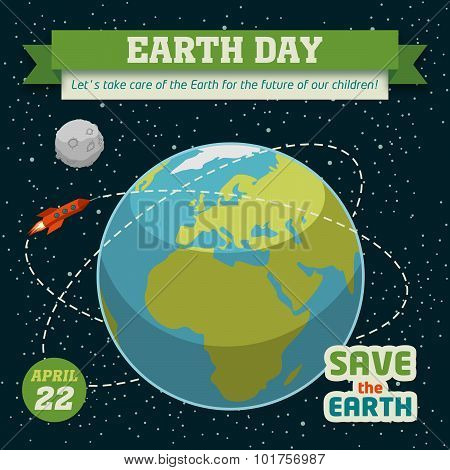 Earth Day Holiday Poster