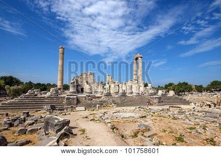 General View Temple Of Apollo