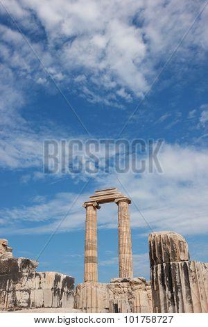 Columns Temple Apollo Didim