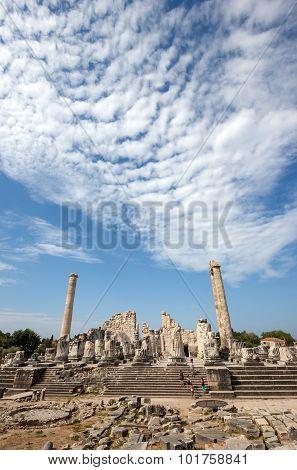 General View Of Temple Apollo