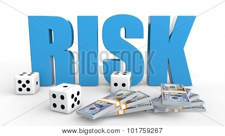 3d dices and money risk