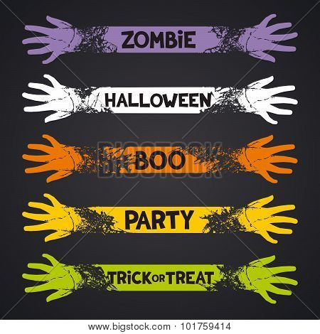 Fun ribbons for halloween holidays