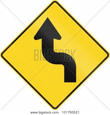 Reverse Curve First To Left In Canada