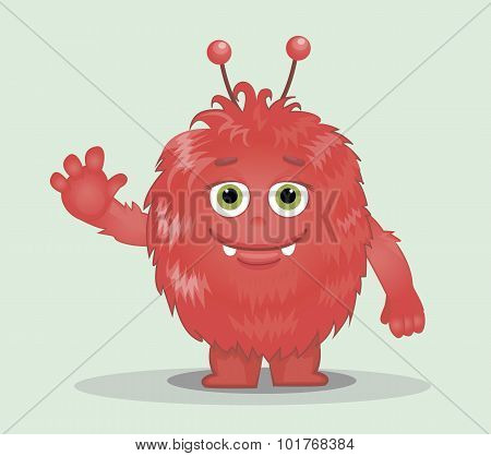 Good Red Furry Monsters 8