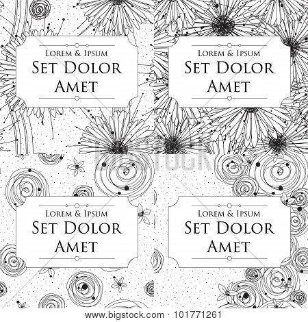 Four Ink Cards