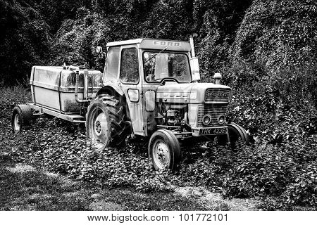 Old Antique Ford Tractor