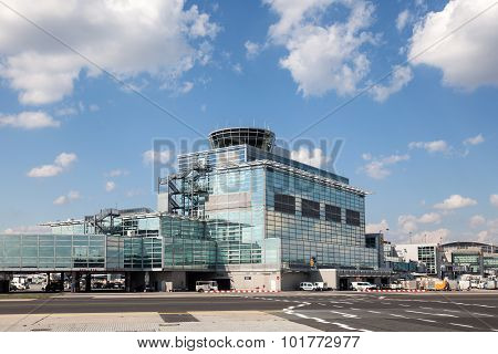 Frankfurt Main International Airport Control Tower