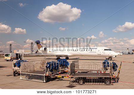 Lufthansa Cityline Canadair Crj-900