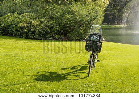 Bike And Its Shadow