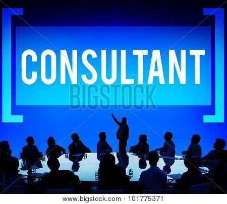 Consultant Advise Advisor Experience Information Concept