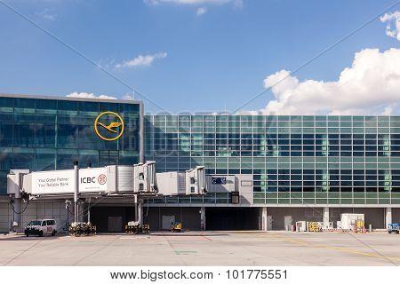 Frankfurt International Airport, Germany