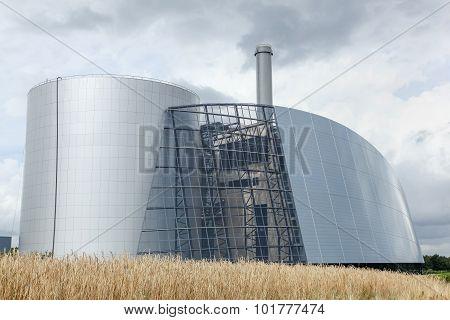 Viborg thermal power station in Denmark