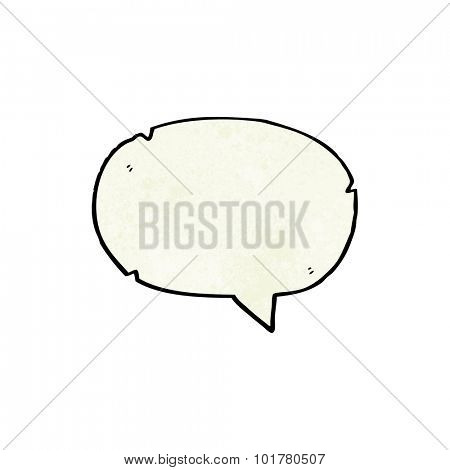 cartoon speech balloon