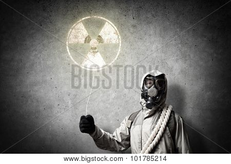 Radioactivity catastrophe