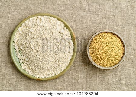 Amaranth Seeds And Amaranth Flour
