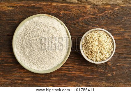Whole-grain Rice And Rice Flour