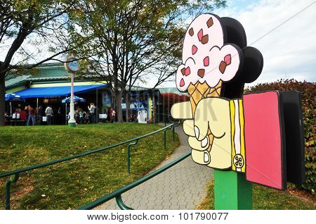 Ben & Jerry's Ice Cream Factory, Vermont, USA