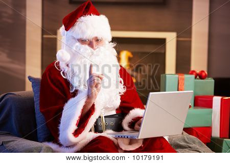 Santa Computer verwenden