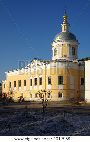 Old Golutvin Monastery In Kolomna, Russia