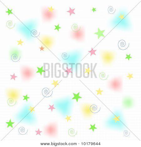 pastel shapes