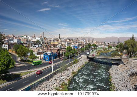 Cityscape Of Arequipa, Peru