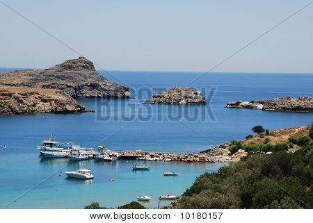 Bay of Lindos