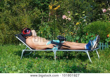 Extreme Sunbathing