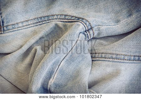 Jean Texture Clothing Fashion Of Denim Textile Industrial