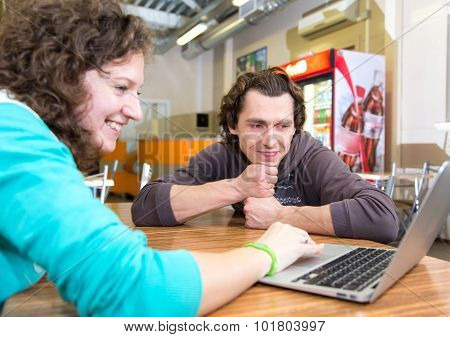 Business Meeting In Informal Clothes And Place