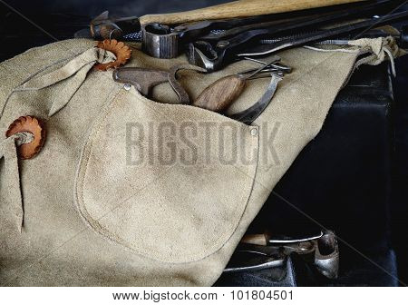 Farrier Tools With Chaps