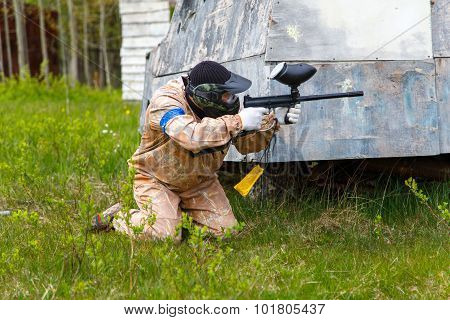 Paintball In Summer