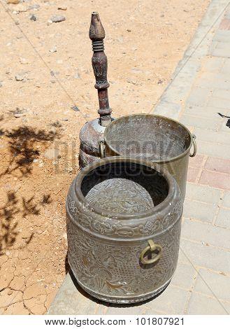 Arabic (bedouin) Coffee Grinder Jordan, Middle East