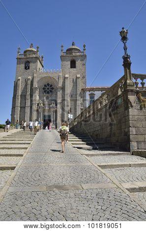 Facade Porto Cathedral