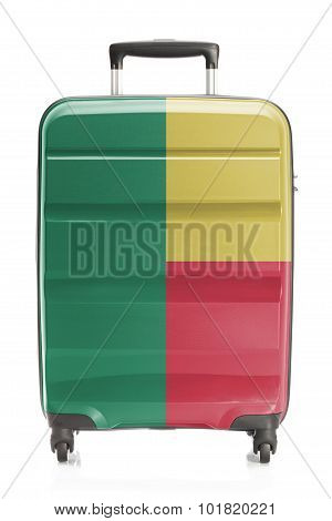 Suitcase With National Flag Series - Benin