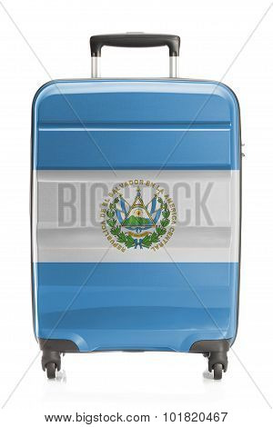 Suitcase With National Flag Series - El Salvador